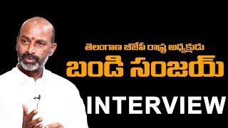 Telangana BJP President Bandi Sanjay Exclusive Interview | BS Talk Show | Karminagar