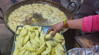 Holi Special Mawa Gujiya Recipe (मावा गुजिया रेसिपी)   Delhi Special Soft Mawa Gujiya   Satya Bhanja