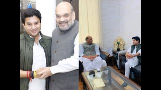 MP crisis: A day after joining BJP, Scindia meets Shah, Rajnath