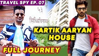 Kartik Aaryan House In Mumbai | Siddhivinayak Apartment | Full Journey | Travel Spy EP. 07