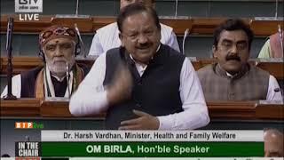 Health Minister Dr. Harsh Vardhan on India's measures against the outbreak of Coronavirus