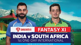 India vs South Africa: Dream11 fantasy tips | CricTracker