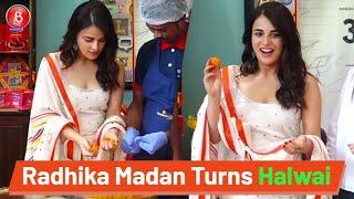Radhika Madan Turns A Halwai To Promote Angrezi Medium | Irrfan Khan | Kareena Kapoor