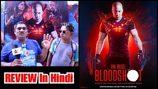 Bloodshot Review In Hindi By Ashok Sir And Filmy Sikander