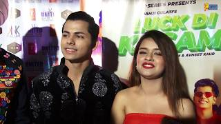 Power Couple Avneet Kaur & Siddharth Nigam - Full Exclusive Interview - Luck Di Kasam Song Launch