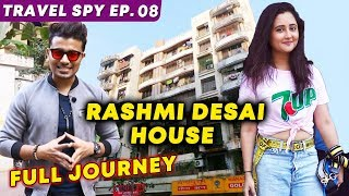 Rashmi Desai House Spotting In Mumbai | Ahimsa Terrace | Bigg Boss 13 & Naagin | Travel Spy EP. 08