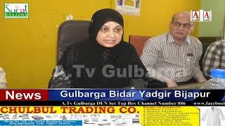 Gulbarga Me Coronavirus Se Laparwahi Na Karne Officials Ko Kaneez Fatima Ki Warning ATv News 14-3-20