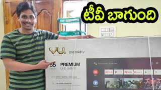 Vu Premium 55 Inch 4K Android Smart Tv Unboxing | 4K TV Under 32k