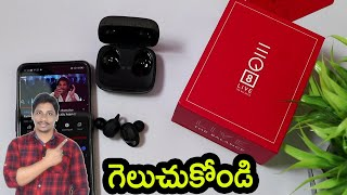 EQ8 Earbuds Swiss Designed True Wireless Buds unboxing Telugu