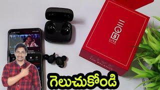 EQ8 Earbuds Swiss Designed True Wireless Buds unboxing Telugu
