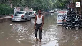 Heavy rains lash Delhi NCR, causes traffic snarls at several locations