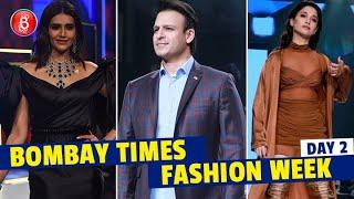Karishma Tanna, Vivek Oberoi, Tamannah Bhatia Burn The Ramp At Bombay Times Fashion Week Day 2