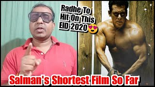 Radhe To Be Salman Khan's Shortest Film Of All Time