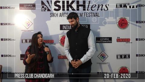 Watch Sikhlens Chandigarh 2020 Press Conference | Lily Swarn, Ojaswwee, Bicky Singh | Sikh Arts & Film Festival India | RFE TV Video