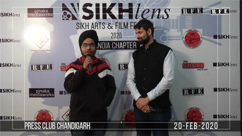 Watch Sikhlens Chandigarh 2020 Press Conference | Aman Gulati Almond Singh, Ojaswwee, Bicky Singh | Sikh Arts & Film Festival India | RFE TV Video