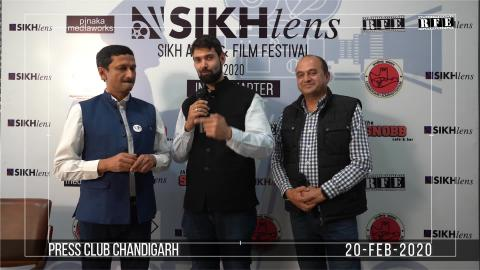 Watch Sikhlens Chandigarh 2020 Press Conference | Vivek Atray, Ojaswwee, Bicky Singh | Sikh Arts & Film Festival India | RFE TV Video