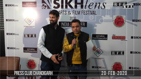 Watch Sikhlens Chandigarh 2020 Press Conference | Minto, Ojaswwee, Bicky Singh | Sikh Arts & Film Festival India | RFE TV Video