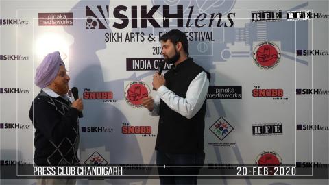 Watch Sikhlens Chandigarh 2020 Press Conference | Dr. Devinderpal Singh, Ojaswwee, Bicky Singh | Sikh Arts & Film Festival India | RFE TV Video