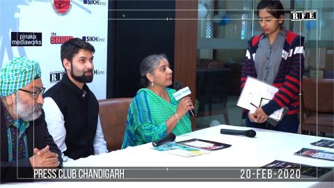 Watch Sikhlens Chandigarh 2020 Full Press Conference at Chandigarh Press Club | Bicky Singh, Gurpreet Kaur, Ojaswwee | India | RFE TV Video