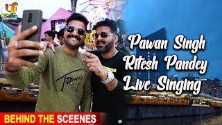 Pawan Singh & Ritesh Pandey का Live Singing | Pawan Singh & Ritesh Pandey | SINGAPORE | IBFA