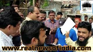 SRA Building Illegal Water Connection Complaint HE Ward BMC Cut Illegal Water Connection Pipeline