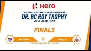 MIZORAM VS PUNJAB || DR. BC ROY TROPHY ||