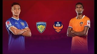 Chennaiyin FC vs FC Goa First Semifinal 2019-20 ISL || Gameplay , Preview ||