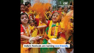 India moving towards an ecofriendly Holi