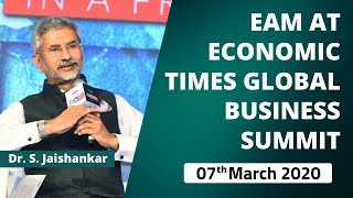 EAM At Economic Times Global Business Summit