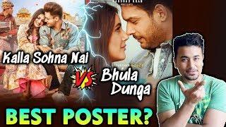 Bhula Dunga Vs Kalla Sohna Poster | Sidharth-Shehnaz Vs Asim-Himanshi | Which Is BEST?