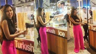 Khatron Ke Khiladi 10 | Tejasswi Prakash GETS PRANKED By TURKISH Ice-Cream Man