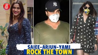 Saiee Manjrekar, Arjun Kapoor, Yami Gautam Rock The Town With Their Looks