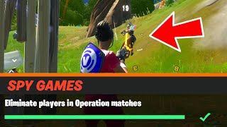 Eliminate players in Operation matches Fortnite