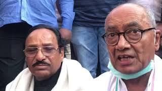 MP political crisis live: बागी विधायकों को मनाने के लिए दिग्विजय के बाद अब कमलनाथ जायेंगे
