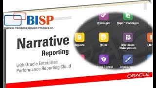 Oracle Narrative Reporting | Narrative Reporting | EPBCS Narrative Reporting