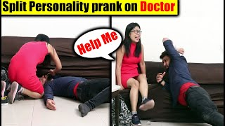 Split Personality Prank on Doctor | Ghost Possession Prank | Pranks in India 2020 | Unglibaaz