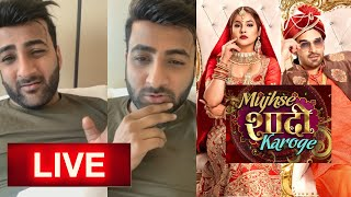Shehbaz LIVE Video After Mujhse Shadi Karoge Show ENDS | Shehnaz Gill | Paras Chhabra