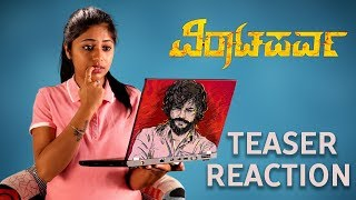 VIRATAPARVA Teaser Reaction || Kannada New Movies || Top Kannada TV