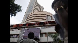 Sensex ends 581 points lower, Nifty below 8,300; ITC jumps 7%