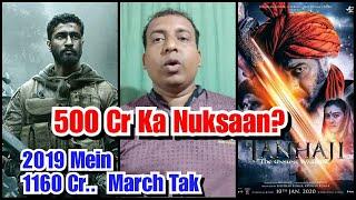 Bollywood Film Industry Ko 2019 Ke Comparison Mein 2020 Mein Abtak 500 Cr Ka Nuksaan?