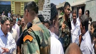AIMIM Kausar Mohiuddin VS Army Officer At Golconda Limits | War Of Words |