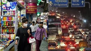 Live Video! | Coronavirus in Delhi | Rumours send people Rushing for Groceries