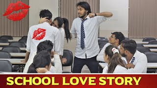 School Love Story | Principal Ki Beti Se Pyar | School Life Diaries 2.0 | Indian Swaggers