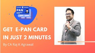 Free PAN Card in 2 Minutes. Learn how to apply online for PAN.