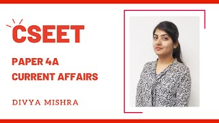Current Affairs for CSEET by Divya Mishra