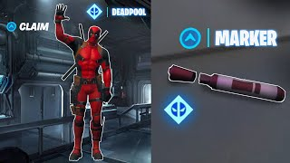 Claim Deadpool Skin Now (Deadpool Week 6 Challenges - Find Deadpool's Big Black Marker) Fortnite