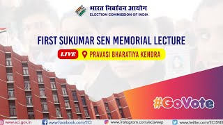 LIVE: Election Commission of India is hosting First Sukumar Sen Memorial Lecture. The inaug
