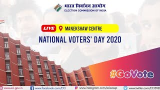 Election Commission of India is celebrating 10th National Voters' Day