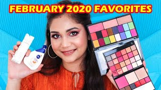 February 2020 Makeup & Skin Care Favorites | Nivea, Swiss Beauty, Cuffsnlashes & More| Nidhi Katiyar