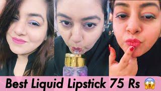 Cheapest Liquid Lipsticks Rs.75 ???? ???? | JSuper Kaur
